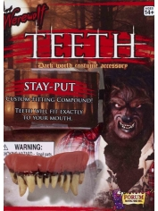 Deluxe Werewolf Teeth - Halloween Make Up