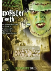 Monster Teeth - Halloween Makeup