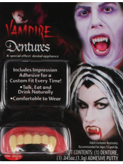 Deluxe Vampire Teeth - Halloween Fake Teeth