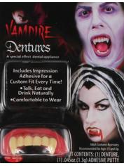Deluxe Vampire Teeth - Halloween Fake Teeth