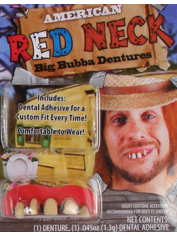 Deluxe BUBBA Teeth - Halloween Fake Teeth