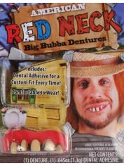Deluxe BUBBA Teeth - Halloween Fake Teeth