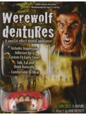 Deluxe Werewolf Teeth - Halloween Fake Teeth