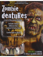 Deluxe ZOMBIE Teeth - Halloween Fake Teeth