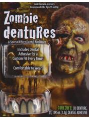 Deluxe ZOMBIE Teeth - Halloween Fake Teeth