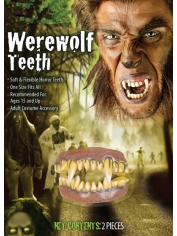 Werewolf Teeth - Halloween Fake Teeth
