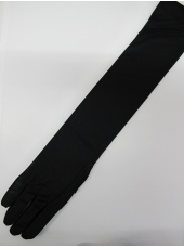Long Black Gloves (21inch) - Costume Accessories