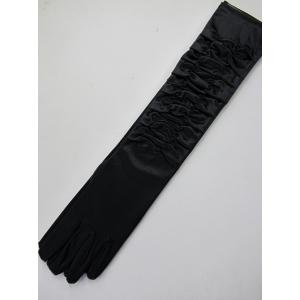 20s Long Black Gloves
