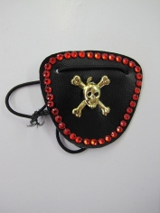 Pirate Eye Patch Leather Look