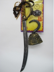 Pirate Swords Set - Plastic Toys (Sale in store only)