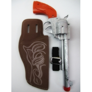 Cowboy Gun With Holster - Plastic Toy