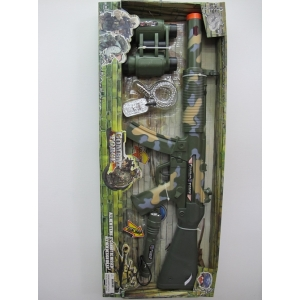 Long Army Gun - Plastic Toy - Sale in Store Only