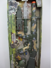 Army Gun Set - Plastic Toys - Sale in Store Only