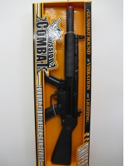 Long Combat Gun - Plastic Toys - Sale in Store Only