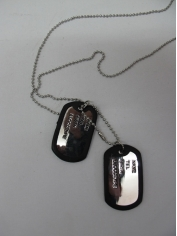 Military Army Dog Tag - Costume Accessories