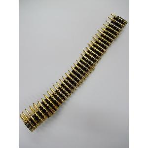 Gold Colour Bullet Belt - Plastic Toys