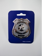 Police Badge - Plastic Toys