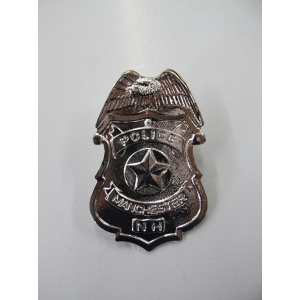 Silver Police Badge - Plastic Toys