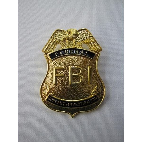Fbi Badge Plastic Toy