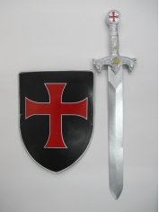 Crusader Sword and Shield - Oversized Toys