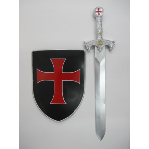Crusader Sword and Shield - Sale in store only
