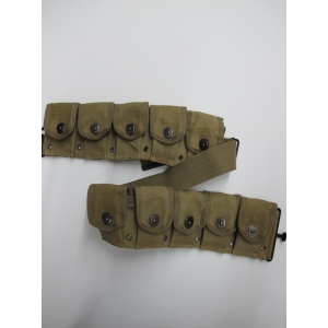 Army Bullet Pockets Belt - Costume Accessories