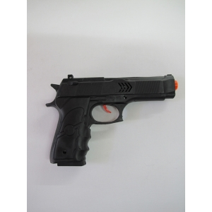 Black Army Short Gun - Plastic Toy