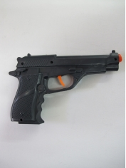 Police Force Gun Short - Plastic Toys