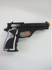 Police Force Gun Short - Plastic Toys