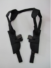 Double Gun Shoulder Holster - Costume Accessories
