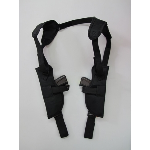Double Gun Shoulder Holster - Costume Accessories