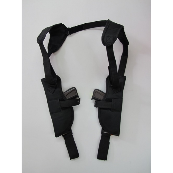 Double Gun Shoulder Holster Costume Accessories