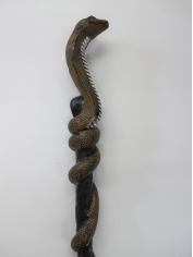 Plastic Cobra Staff - Oversized Toys