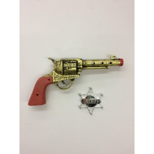 Cowboy Gun Set - Plastic Toy