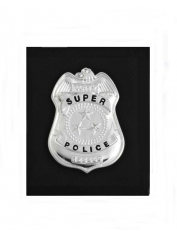 Metal Police Badge Wallet - Police Costumes