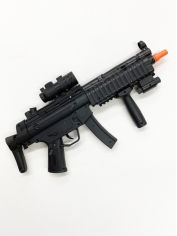 Long Police Force Gun - Plastic Toys (oversized toy)