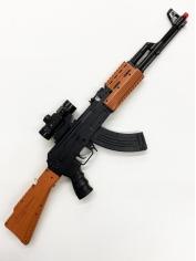 Long Army Gun - Oversized Plastic Toy.