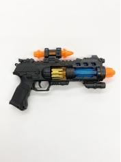 Vibration Gun with Lights - Plastic Toys