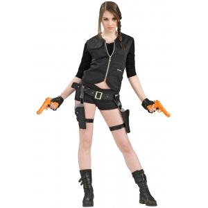 Police Gun Holster Set - Plastic Toys