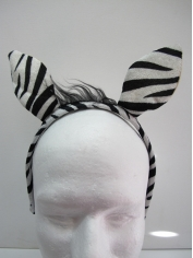 Zebra Costume Headpiece