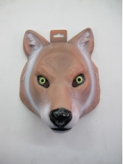 Large Wolf - Animal Plastic Masks