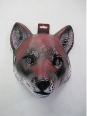 Large Fox Mask - Plastic Animal Mask