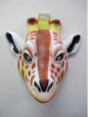 Large Giraffe - Animal Plastic Masks
