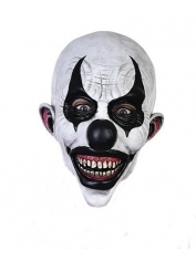 White Black Clown - Halloween Masks