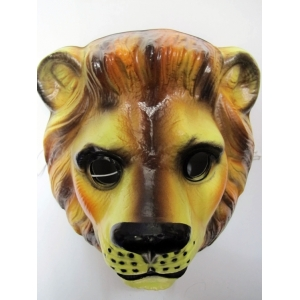 Lion Mask - Plastic Animal Mask