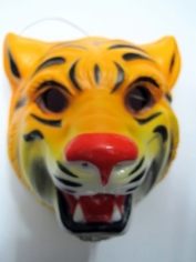 Tiger Mask - Plastic Animal Mask
