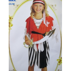 Pirate Girl - Children Costume