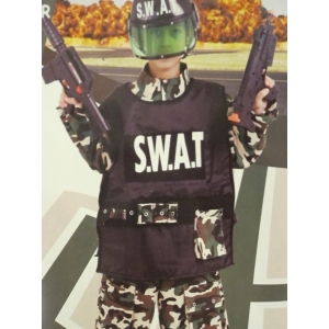 Swat Commander - Childrens Costume