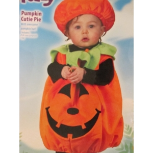 Fuzzy Pumpkin Cutie Pie - Childrens Costume