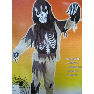 Skeleton Zanmbi - Halloween Children's Costumes